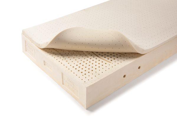 Colchón Urbasa- Látex 100x100 natural con capa látex natural microperforado